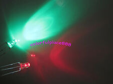 1000 x 3mm Dual Bi-Color Red/Green 3-Pin Led Common Anode Water Clear Leds Lamp