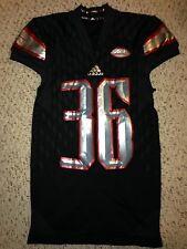 2015 Adidas Louisville Cardinals #36 Kevin Houchins Football Game Worn Jersey
