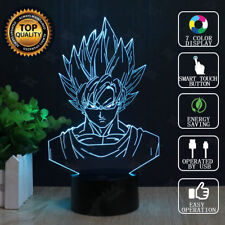 3D Dragon Ball Z Son Goku illusion LED Night Light Touch Table Desk Lamp 7 Color