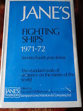JANE'S fighting ships 1971 - 72 standard work of reference on the navie/ marine