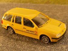 1/87 AWM VW GOLF IV Variant la poste PTT Suisse CH 72008