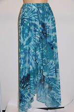 NWT Calvin Klein Swimwear Bikini Cover Up Skirt Sz S/M Cerulean