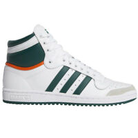 Adidas Top Ten Hi Sneakers Men's Casual Shoes Running High Top White Green