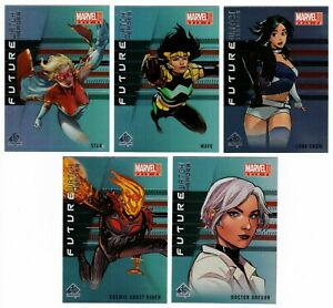 2019-20 Upper Deck Marvel Annual Future Watch Heroes You Pick Finish Your Set