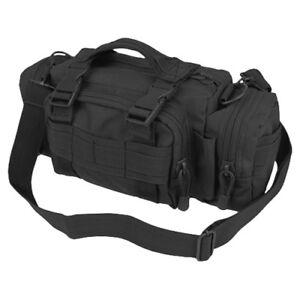 Condor Deployment Bag Tactical Utility Shoulder Police Pouch Molle Webbing Black