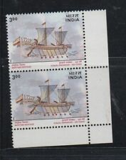 India 2000 MNH Maritime Heritage  (Ship) pair of 2  stamps