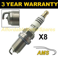 8X doppio Iridium Spark Plugs per MERCEDES BENZ SL500 1992-2001