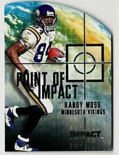 2000 Impact Point Of Impact RANDY MOSS (ex-mt) Minnesota Vikings