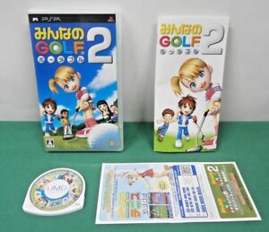 PlayStation Portable - Minna No Golf Portable 2 Everybody's - PSP. JAPAN. 50315
