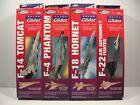 Estes Fighter Series Gliders (4) kits, balsa model airplane kits FF