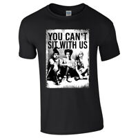 CANT SIT WITH US TSHIRT Top Sanderson Sisters Retro Hocus Pocus Squad Halloween