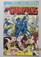 The Champions #2 Very Fine+ Vf+ 8.5 Black Widow Hercules Iceman Ghost Rider