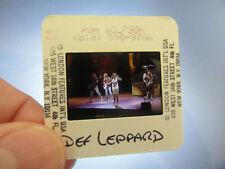 More details for original press photo slide negative - def leppard - 1980's - c