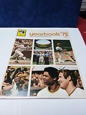 1972 Pittsburgh Pirates Official Yearbook  near mint condition