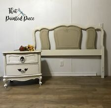Vintage Bassett Queen Or Full Bedroom Set