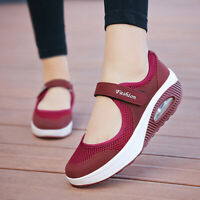 New Summer Fashion Women Flat Breathable Mesh Casual sandals & ladies boat shoes