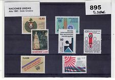 SELLOS NACIONES UNIDAS 1981 SEDE GINEBRA