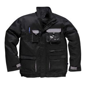 TX10 - Portwest Texo Contrast Jacket Black