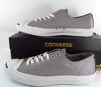 Converse Jack Purcell JP JACK OX Low Dolphin Gray Cork Sole 147597C (10 MEN'S)