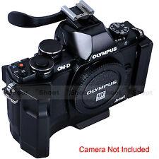 Quick Release Plate Camera Bracket Grip Finger Handle for Ballhead Olympus E-M10