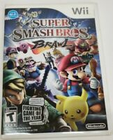 Super Smash Bros. Brawl (Wii, 2008) Complete, Tested! Great Condition