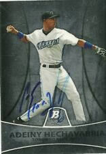 2010 Bowman Platinum ADEINY HECHAVARRIA Signed Card BLUE JAYS YANKEES CUBA