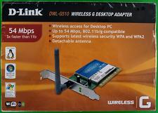 D-Link DWL-G510 Wireless G Desktop Adaptor
