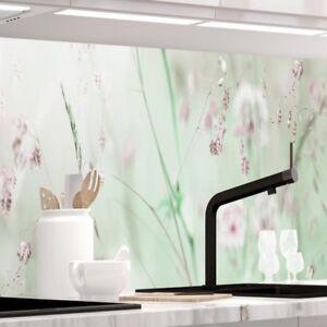 Küchenrückwand - WILDBLUMENWIESE - 1.5mm Hart-Material, jeder Untergrund möglich