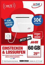 Internet für Zuhause und unterwegs - Wlan Router & Prepaid Sim mit 30€ Guthaben