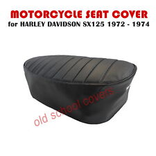 MOTORCYCLE SEAT COVER HARLEY DAVIDSON SX 125 SX125 1972 - 1974