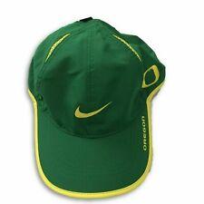 Nike Oregon Ducks NCAA Featherlight Adjustable Hat Cap One Size