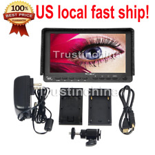 "Bestview S7 7"" 4K 1920x1200 HDMI HD Camera LCD Monitor for DSLR Video USA"