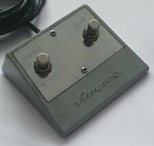More details for vintage 1960's/70's ampeg foot-switch, working**