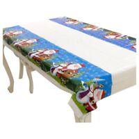 Nappe de Noel rectangulaire jetable Couvercle de table Nappe de table oblon W8I5