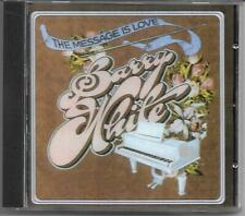"""BARRY WHITE """"The Message is Love"""" CD Aquarius/Unlimited Gold RG 181002 NEU/NEW"""