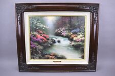 Thomas Kinkade Beside Still Waters Framed Canvas Lithograph 583/1280
