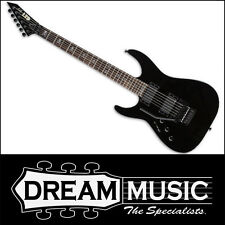 LTD Kirk Hammett 602 Left Handed Signature Electric Guitar Black Finish RRP$2299