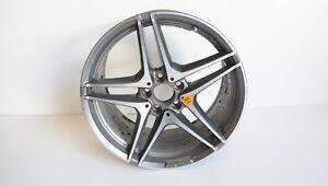 "Mercedes W205 S205 C Class AMG Rim 19 "" Aluminium Performance Single Piece AMG10"