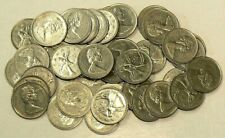 1970 Canada Roll of 40 Circulated 25 Cents Low Mintage #7534