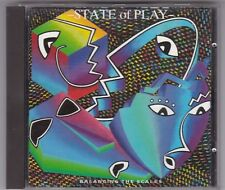 STATE OF PLAY - BALANCING THE SCALES CD ALBUM VIRGIN © 1986(BITTE LESEN!)