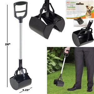 Heavy Duty Jumbo Pooper Scooper Shovel Long Reach Dog Waste Scoop Pickup Remover