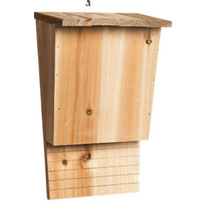 Evergreen Garden Natural Wooden Bat House