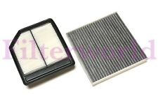 Combo Engine And Carbonized Cabin Air Filter For Honda Civic 06-11 US Seller