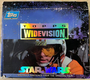 1994 Topps Star Wars Widevision Complete Set (#1-120)