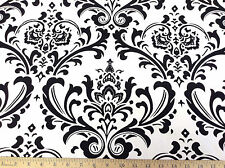 Discount Fabric Premier Prints Traditions Black and White 05PR