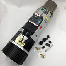 9KW ATC Spindle Motor Air-cool 24000RPM 220V Auto Tool Change Motor Replace HSD