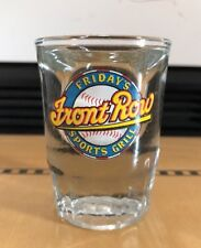 TGI Fridays Front Row Miller Park Milwaukee Brewers Shot Glass