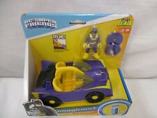 Fisher price Imaginext DC Superfriends Batgirl Batmobile purple Legends Batman