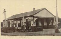 LEESPORT PA - P. & R. Railroad Station