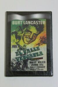 EL VALLE DE LA VENGANZA  Burt Lancaster  DVD  Original y Precintado Technicolor